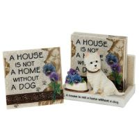 Classic Dogs Coaster Set